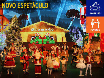 A Lenda do Bosque de Natal - ingresso + entrega no hotel